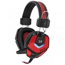 Redragon Słuchawki z mikrofonem Redragon RIDLEY Gaming czarno-czerwone