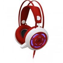 Redragon Słuchawki z mikrofonem Redragon SAPPHIRE Gaming biało-czerwone