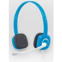 Logitech Słuchawki z mikrofonem Logitech H150 niebieskie