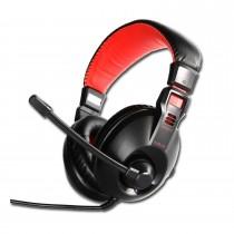 E-Blue Słuchawki z mikrofonem E-Blue Conqueror I Gaming czarne