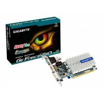 Gigabyte GeForce GT 210, 1GB DDR3 (64 Bit), HDMI, LP, DVI, D-SUB, BOX