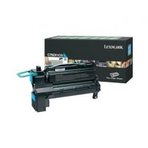 Lexmark Toner Optra C792 błękitny 20k C792X1CG