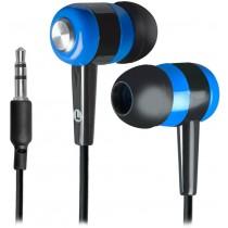 Defender Słuchawki BASIC 616 douszne czarno-niebieskie