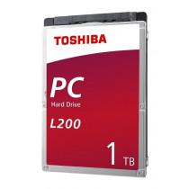 Toshiba HDWL110UZSVA Dysk twardy L200, 2.5, 1TB, SATA/600, 5400RPM, 128MB cache