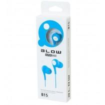 BLOW Słuchawki B-15 NIEBIESKIE