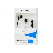 BLOW Słuchawki B-12 czarne douszne