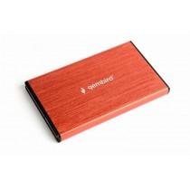 Gembird Obudowa dla dysków 2.5 USB3.0/czerwona