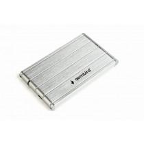 Gembird Obudowa dla dysków 2.5 USB3.0/aluminium/srebrna