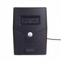 Digitus Zasilacz awaryjny UPS Line-Ineractive LED, 600VA/360W, AVR, 2xSCHUKO,USB, RJ11