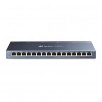 TP-Link TL-SG116 Switch 16-Port Gigabit Desktop Switch, 16 Gigabit RJ45 Ports, D