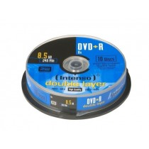 Intenso DVD+R DL 8,5GB 8x (cake box, 10szt)