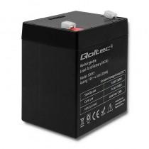 Qoltec Akumulator AGM | 12V | 4.5Ah | max.1.35A
