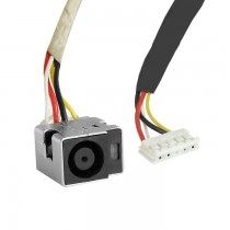 Qoltec Gniazdo DC do HP/Compaq CQ40 CQ45 Series + kabel