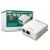 Digitus Serwer wydruku Fast Ethernet 1-port 1xLPT, 1xRJ-45