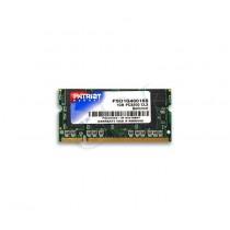 Patriot Pamięć RAM Signature PSD1G40016S (DDR SO-DIMM; 1 x 1 GB; 400 MHz; CL3)