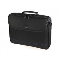 NATEC torba na notebooka IMPALA Black-Blue 15,6'' (usztywniona rama torby)