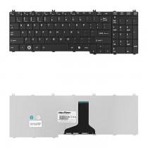 Qoltec Klawiatura do laptopa Toshiba Satelite C650B CZARNA