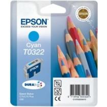 Epson T032240 cyan (wkład atramentowy, Stylus C70, Stylus C80)