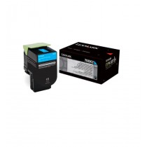 Lexmark Toner 700X1 black | 8000 str. | CS510de / CS510dte
