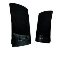 Logic Concept Głośniki 2.0 LS-10 (czarne) [ stereo ]