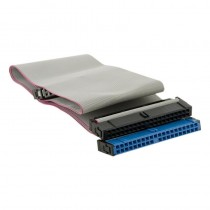 4World Taśma HDD | ATA 40-pin IDE66 | 45cm | szary