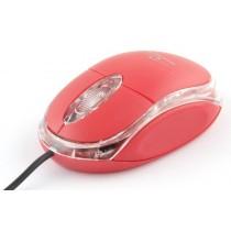 Esperanza TITANUM TM102R RAPTOR - Przewodowa Mysz Optyczna USB 3D|1000 DPI|Czerwona|BLIST