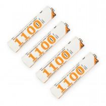 Whitenergy akumulatory - baterie 4 szt AAA/R3 1100mAh Ni-MH - blister