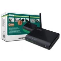 Digitus Wielofunkcyjny serwer wydruku/Print server 3xUSB 2.0 Hub sieciowy, NAS, 1x RJ45, WLAN bezprzewodowy