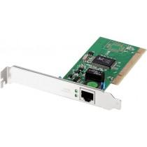 Edimax 32-bit Gigabit LAN Card, RJ45, additional low profile bracket incl.