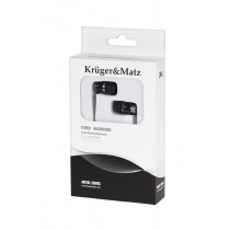 Kruger & Matz Słuchawki KMM01BK czarne