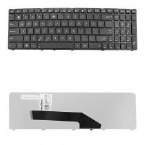 Qoltec Klawiatura do laptopa Asus K50, K50AB, K50AD, K50AF, K50C CZARNA