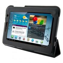 4World Etui - stand dla Galaxy Tab 2, 4-Fold Slim, 7'', czarne