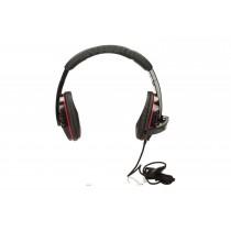 NATEC Słuchawki GENESIS H11 z mikrofonem, 2 x Mini Jack 3,5 mm (GAMING)