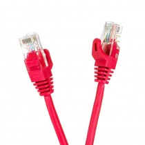 Digitalbox Patchcord UTP cat.5e 0.25m START.LAN czerwony