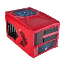Thermaltake Obudowa Armor A30i Cube USB 3.0 Window (2x60mm 90mm 200mm, LED), czerwona