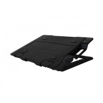 Zalman Podstawka pod laptop ZM-NS2000 czarna (do 17 cali) HUB-3x USB 2.0