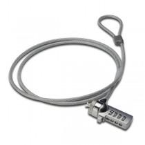ednet Linka zabezpieczająca do laptopa z zamkiem szyfrowym, 1,5m