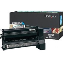 Lexmark Toner cyan | zwrotny | 10000 str. | C780/C782