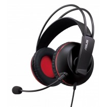Asus Słuchawki z mikrofonem Czarny 90YH0061-B1UA00
