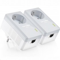 TP-Link TPLINK TL-PA4010P KIT TL-PA4010P AV500 Powerline Adapter AC PassThrough StarterKit (Twin Pack)