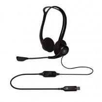 Logitech Słuchawki + mikrofon, PC 960 Stereo Headset USB