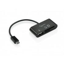 Gembird Czytnik na micro USB OTG 7w1
