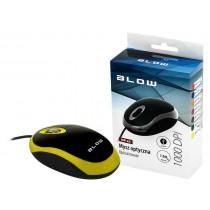 BLOW 84-017# mysz optyczna MP-20 USB żółta