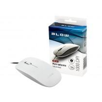 BLOW mysz optyczna MP-30 USB biała