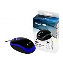 BLOW mysz optyczna MP-20 USB niebieska