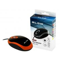 BLOW mysz optyczna MP-20 USB pomarańczowa