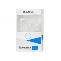 BLOW Słuchawki B-12 białe douszne