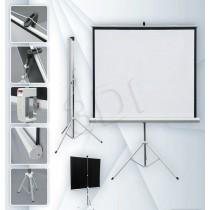 2x3 Ekran projekcyjny na stojaku ETPR1515R/ECO (rozwijane ręcznie; 147 x 147 cm; 1:1; 84 )