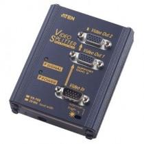Aten Video Splitter 2 porty 250 MHz (max. 65 m)