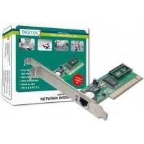 Digitus Karta sieciowa przewodowa PCI do Fast Ethernet 10/100Mbps